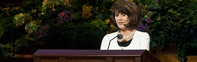 LDS conference prayer