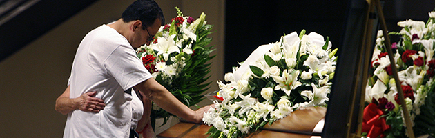 Referee funeral