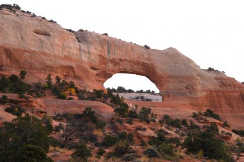 Wilson Arch, south of Moab on US 191