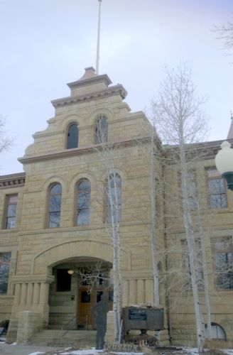  Summit County Courthouse in Coalville