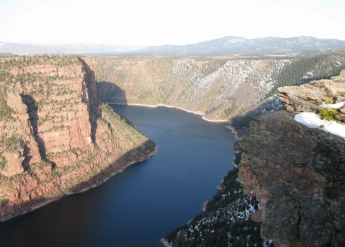 Red Canyon overlook in Flaming Gorge National Recreation Area