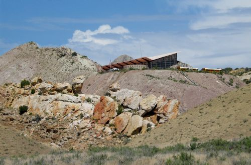 Quarry at Dinosaur National Monument