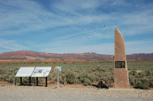  Pahreah landmark on Highway 89 between Kanab and Page, Az.