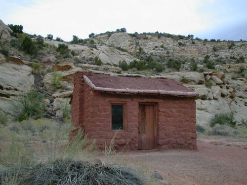 Behunin Cabin in Capitol Reef National Park.