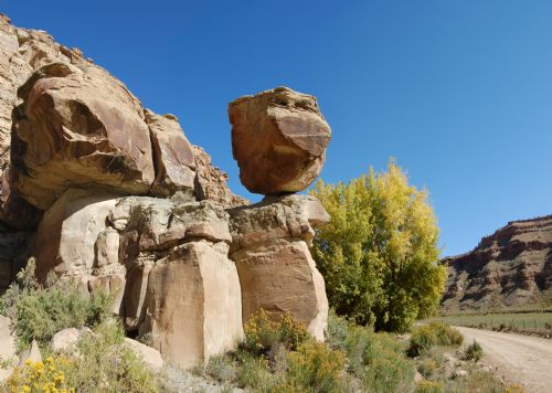  Pig Rock in Nine Mile Canyon.