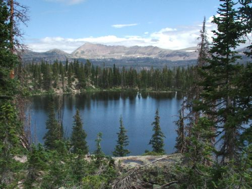  Margo Lake in the Uintas