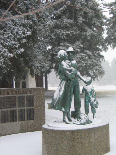 Huntsville Legacy statue