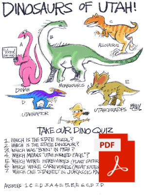 download the pdf of the dino quiz