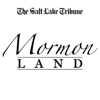 Salt Lake Tribune Mormonland Podcast logo