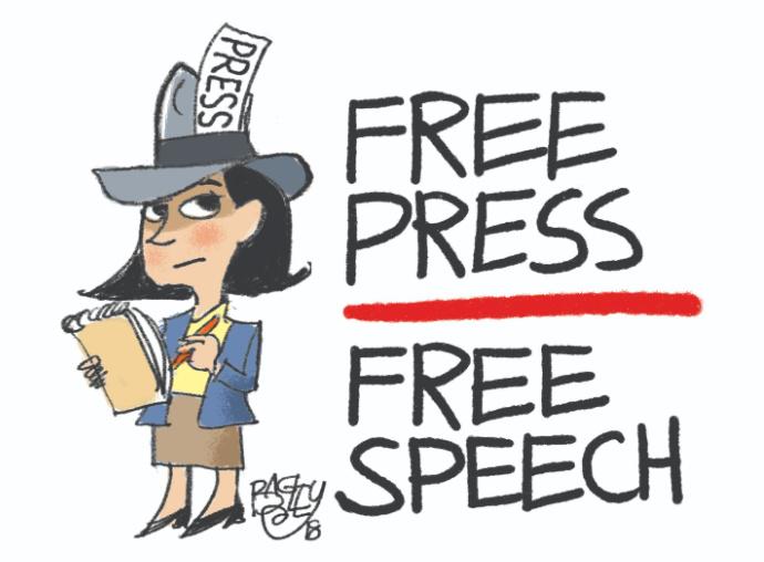 Pat Bagley cartoon of tribune reporter