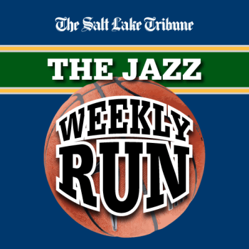 Salt Lake Tribune Jazz Weekly Run Podcast logo