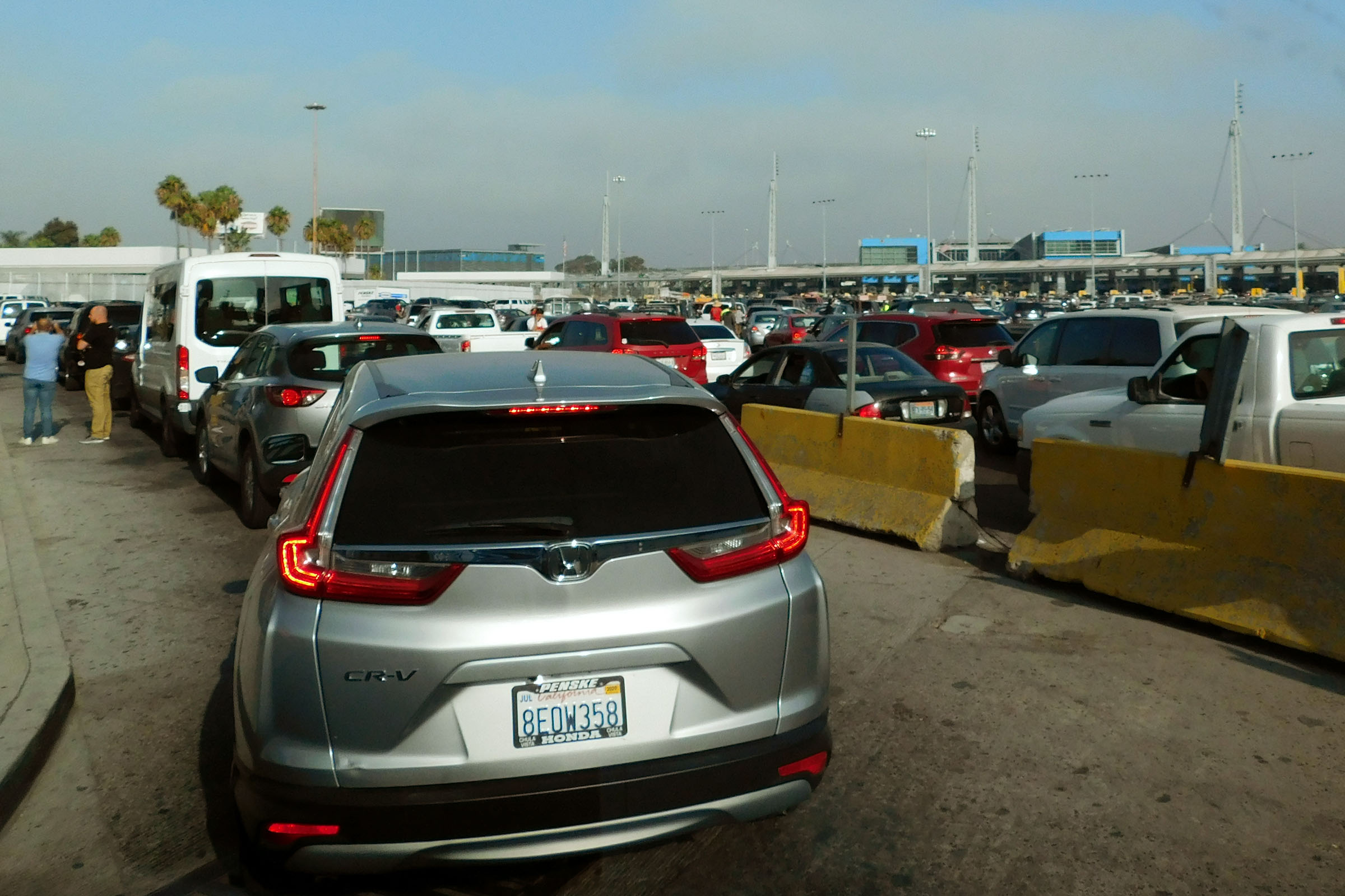 The San Ysidro border crossing, between San Diego and Tijuana, Mexico